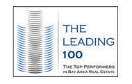 image of the leading 100 badge